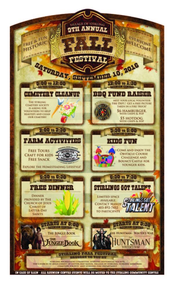 Fall Festival 2016 - Poster