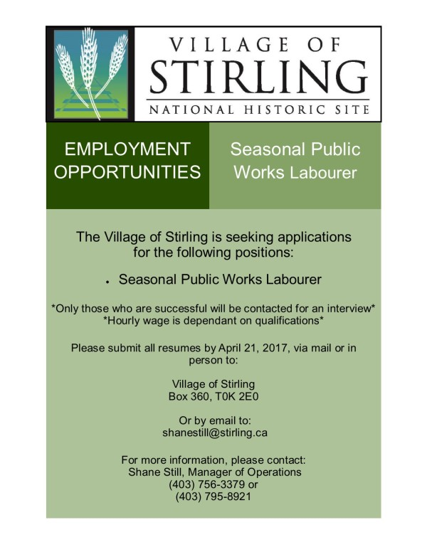 Employment Opportunities 2017(PW)